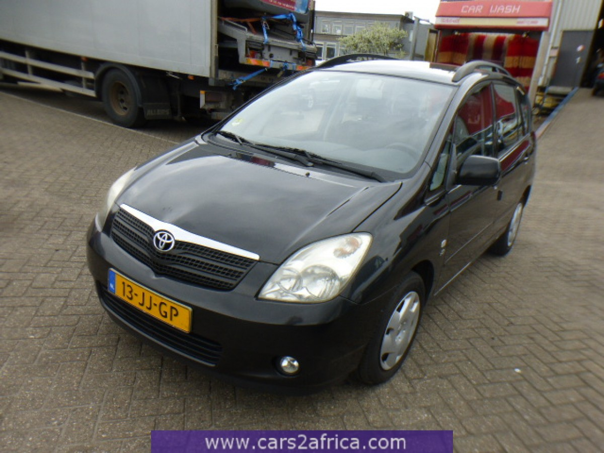 TOYOTA Corolla Verso 2 0 D-4D #64545 - used, available from stock
