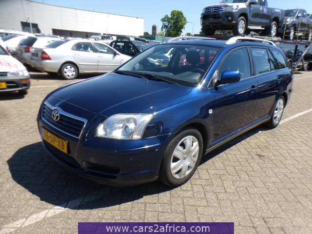 TOYOTA Avensis 2 2 D-CAT #64770 - used, available from stock