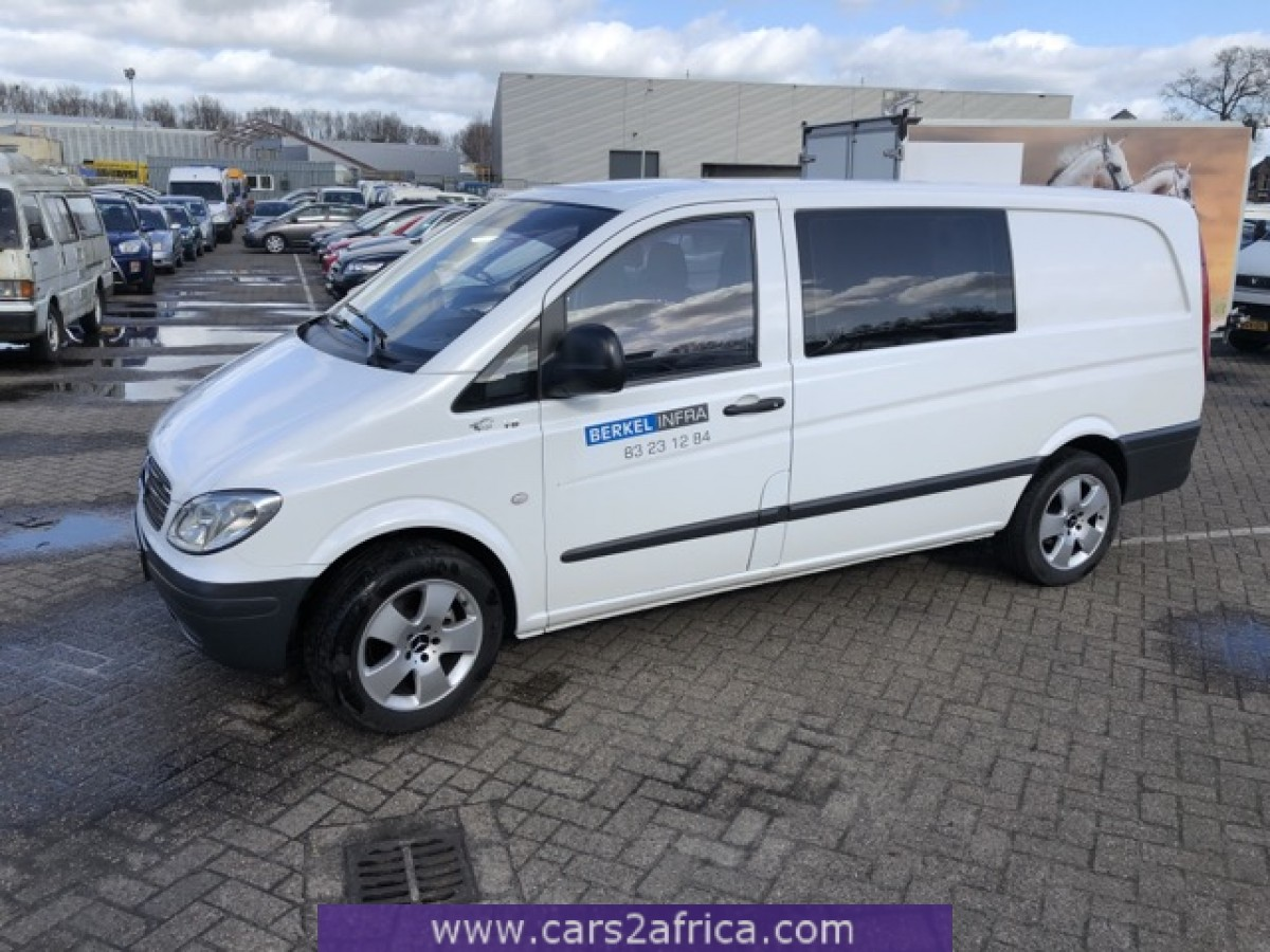 Hedendaags MERCEDES-BENZ Vito 109 CDI #66171 - used, available from stock WL-04