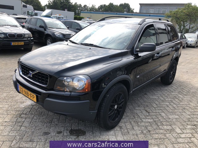 Onwijs VOLVO XC90 2.4 D #66800 - used, available from stock JW-53