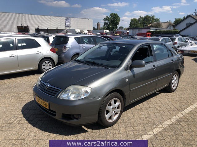 Used Toyota Corolla >> Toyota Corolla 1 6 68013 Used Available From Stock