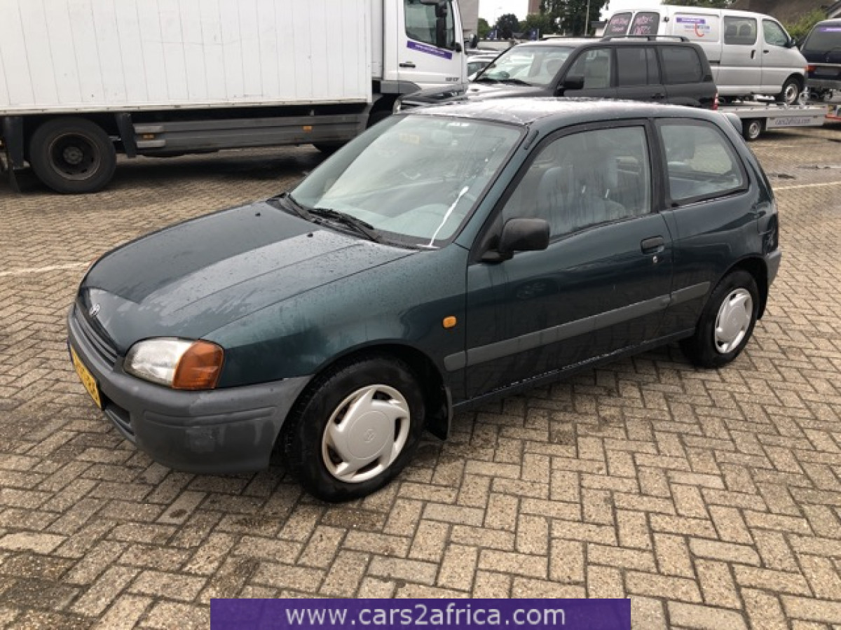 Toyota Starlet 1 3 69417 Used Available From Stock