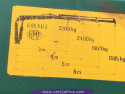 MERCEDES-BENZ 2422 6x2 3-way kipper